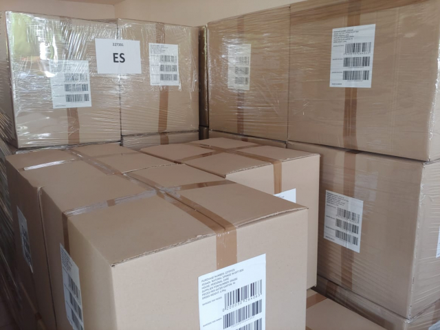 Ready for shipping sea sponges worldwide in pallets